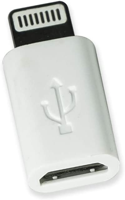 VisionTek Micro USB to Lightning Adapter White, 3 Pack - 900816
