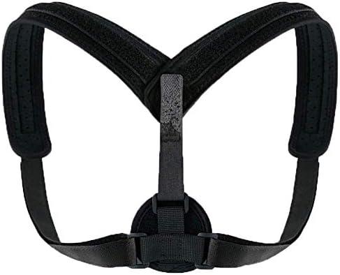 猫背矯正ベルト 脱着簡単 調節可能 調節可能なショルダー姿勢補正、フルフレア鎖骨の支持ベルト、是正姿勢矯正、支柱ブレース 日常 便利 防具 肩こり解消 巻き肩 美姿勢 補正サポーター 子供 大人 男女兼用