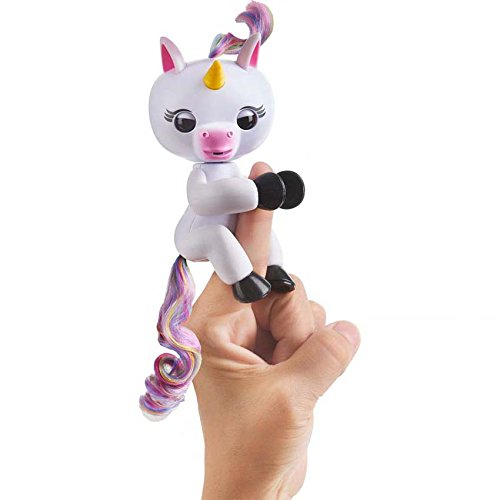 Very Important Pets (NEWEST VERSION 2018 Unicorn Interactive Finger Toy, USB charger, Finger Puppet, Finger Pets Unicorn Stress Release toys Best Gift for children, United Unicorn Finger Toys (not Fingerlings))