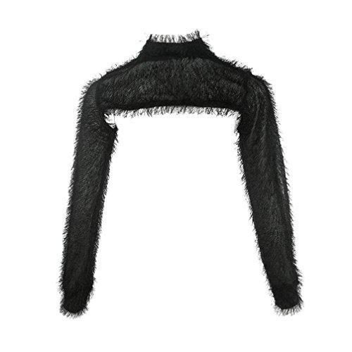 Moda Maglione Camicie Sexy Nero Donna Lungo Bluse E Manica Donna Dragon868 Camicie 4q7Uwxdvv