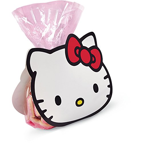 Wilton 1912-7621 Hello Kitty Treat Bag Kit Makes 4, Clear]()