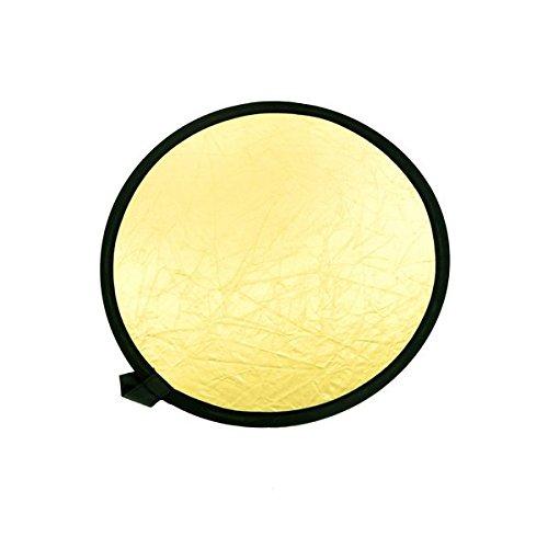 """2 opinioni per Neewer® 24""""/60cm 2-in-1 Portatile Riflettore Pieghevole Disco Riflettente"""