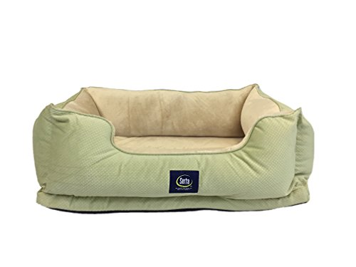 Serta Ortho Ultra Pillowtop Pet Bed Grey