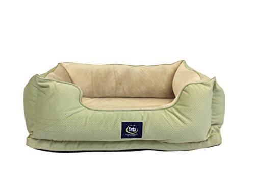 Serta Cuddler Pet Bed, Sage