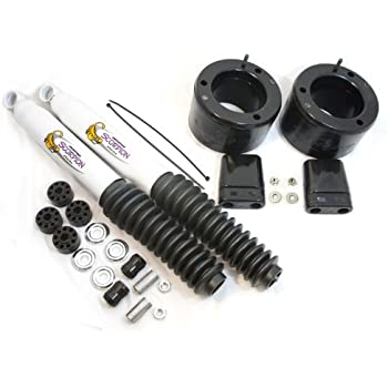 "2017 Power Wagon Leveling Kit >> Amazon.com: Daystar, Dodge RAM 2500/3500 2"" Leveling Kit with bump stops and front shocks, fits ..."