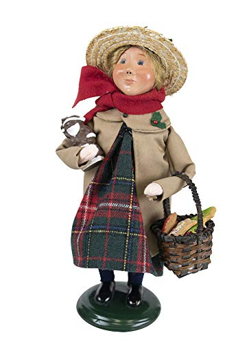 Byers' Choice Duster Girl Figurine 1197G from The Caroling Families Collection ()