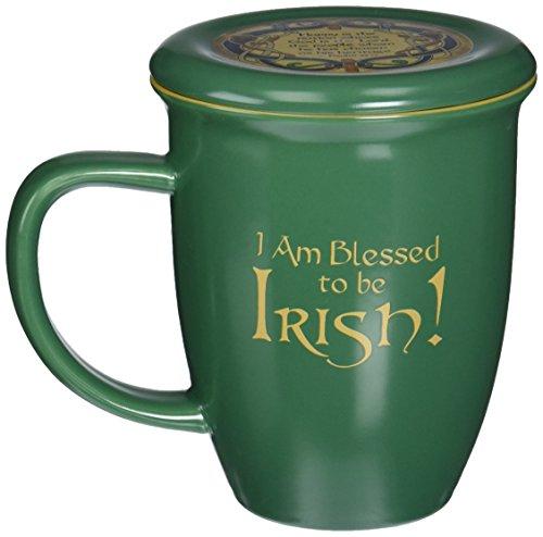 Abbey Gift Irish Mug and Coaster Set