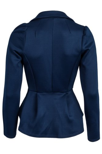 tailleur Veste Marine Bleu My1stWish Femme de 4AYqwExBn