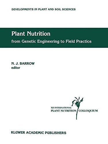 Plant Nutrition - from Genetic Engineering to Field Practice: Proceedings of the Twelfth International Plant Nutrition Colloquium, 21-26 September 1993, ... (Developments in Plant and Soil Sciences) Pdf
