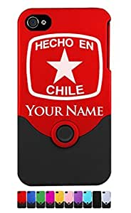 Engraved iPhone 4/4S Case/Cover - HECHO EN CHILE - Personalized for FREE (Click the CONTACT SELLER button after purchase and send a message with your case color and engraving request)