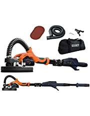 """Dustless Drywall Sander with Carrying Bag by Maxxt-tech Canada; 6pcs 9"""" Sanding Disc; Telescopic; Infinitely Variable Speed; 13FT Dust Hose"""