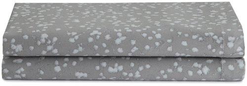 Calvin Klein Home Pressed Flower Pillowcase, King (Blossom Stems Cotton)