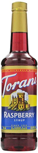(Torani Syrup, Raspberry, 25.4 Ounces (Pack of 4) )