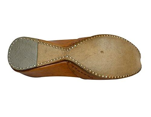 ... Trinn N Style Kvinners Loafers Flat Slipon Phulkari Jutti Khussa Sko  Stamme Boho Sko Multi-