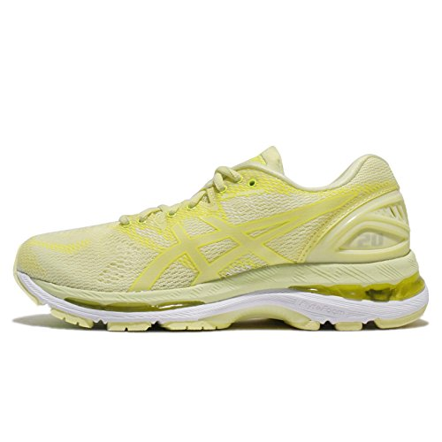 ASICS Women's Gel-Nimbus 20, Limelight/Limelight/Safety Yellow, 26.5 cm