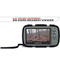 """Stealth Cam SD Card Reader and Viewer with 4.3"""" LCD Screen"""