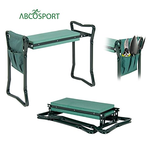 Garden Kneeler And Seat Protects Your Knees Clothes
