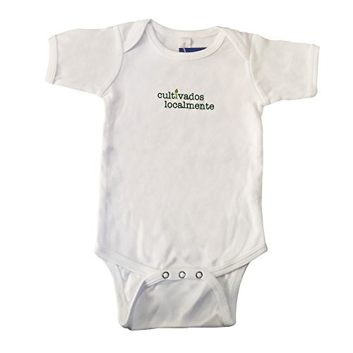 Cultivados Localmente (Locally Grown in Spanish) Baby Tee (3-6 months)