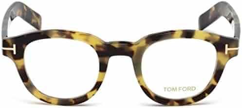 0c9f45e904 Tom Ford Round Eyeglasses TF5429 055 Tortoise Gold 47mm FT5429