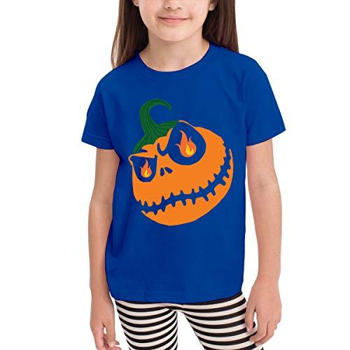 Marcus Roberta Halloween Pumpkin Kids T-Shirt Unisex Classic T-Shirt Blue 4T