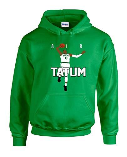 The Tune Guys Green Boston Tatum Air Pic Hooded Sweatshirt Adult (Green Gordon Pic)