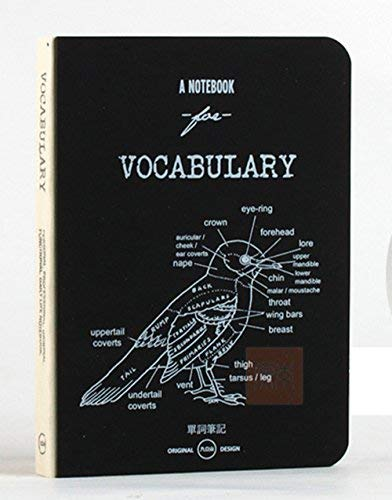 DEBON A5 Vocabulary Book Notebook for Students' Foreign Language Learning