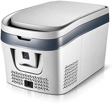 Weiaxminibx 38Lカー冷蔵庫カーホームピクニック冷蔵冷凍庫用コンプレッサーDC 12V、24Vのカー冷蔵庫冷凍庫クーラー-19〜10度