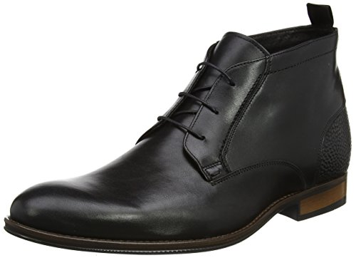 Bertie Magneto, Stivali Chukka Uomo Nero (Black Leather)