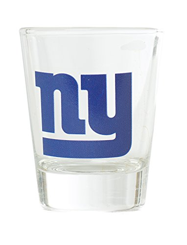 New York Giants Shot Glass (NFL New York Giants Premium Heavy Base 2.0 oz Shot Glass)