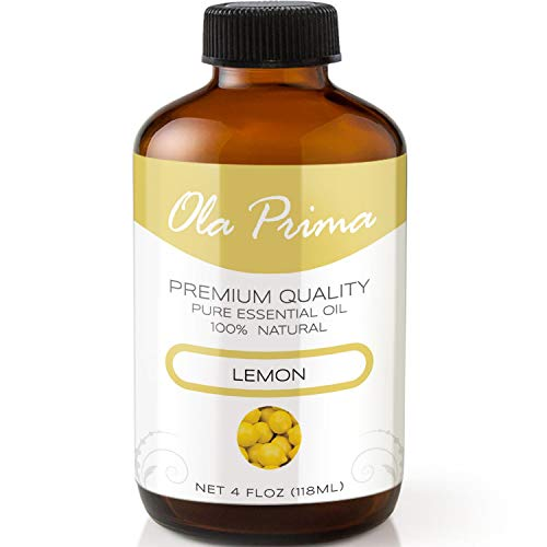 lemon essential oil 4 oz - 2