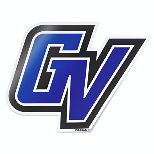 Nudge Printing Grand Valley State University GVSU Lakers Blue GV Car Window Decal Bumper Sticker Emblem Laptop Sticker