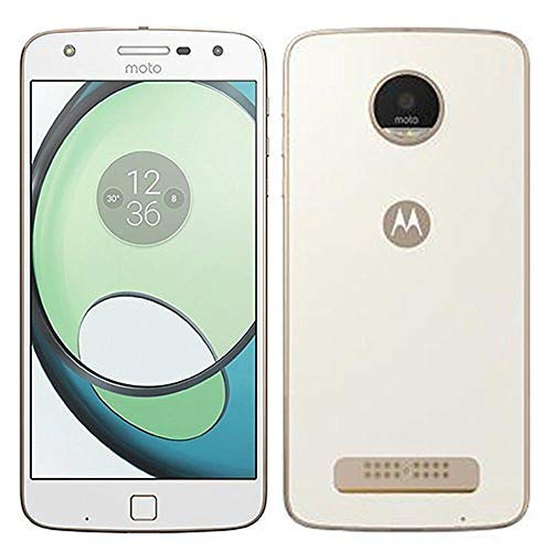 Motorola Moto Z Play 32GB XT1635-01 White/Gold - Verizon Wireless (Renewed)