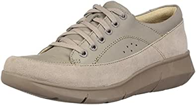 Hush Puppies Women's Dasher Mardie Oxford ice Grey 5.5 M US