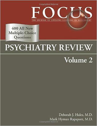 Focus Psychiatry Review: 9780890423462: Medicine & Health