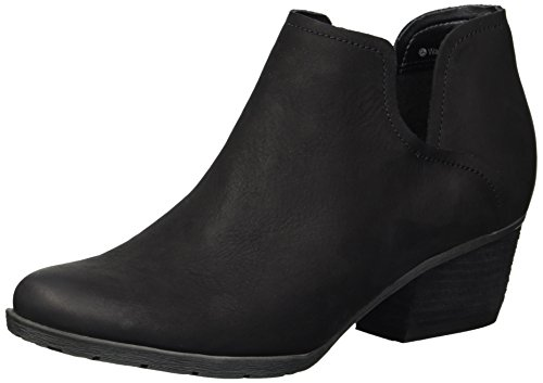 Blondo Women's Victoria Waterproof Rain Shoe, Black Nubuck, 8.5 M US