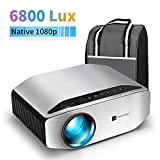 GooDee YG620 Native 1080p Projector 6800 Lux 300