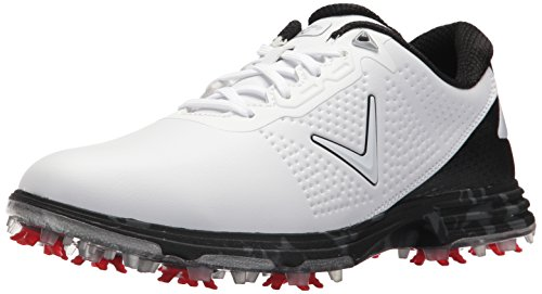 (Callaway Men's Coronado Golf Shoe, White/Multi, 10 W US )