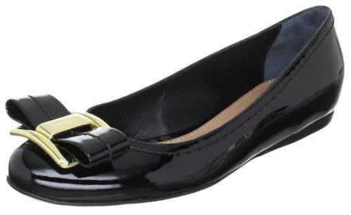 Sebastian WOMAN'S SHOE S5212 VERNER - Sandalias clásicas de tela para mujer Negro