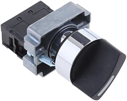 22mm 回転ボタンスイッチ XB2-BD21 オン/オフ 2速トリガ選択スイッチ
