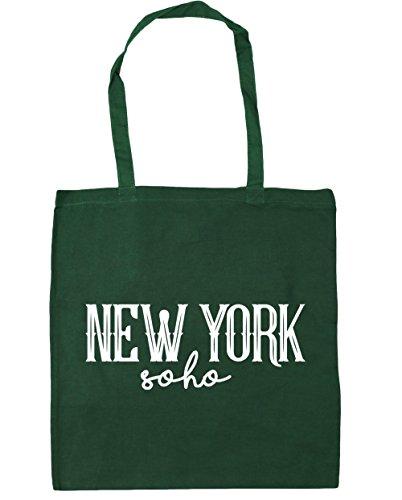 HippoWarehouse York Gym x38cm Bottle New Green 42cm 10 Beach Shopping Soho litres Bag Tote BxqBc5SXwr
