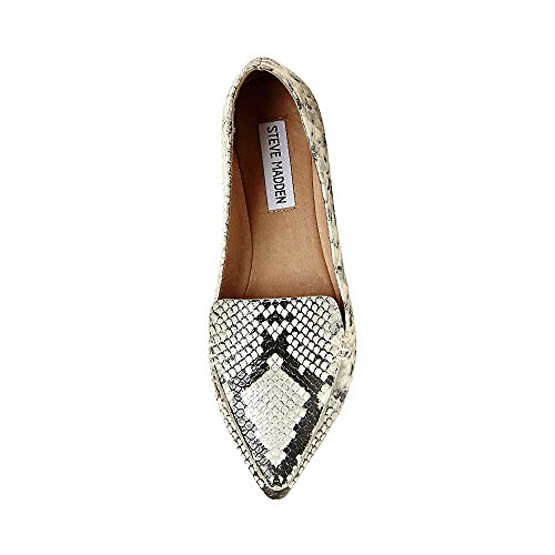 Pictures of Steve Madden Women's Feather Loafer Flat 8 M US 8