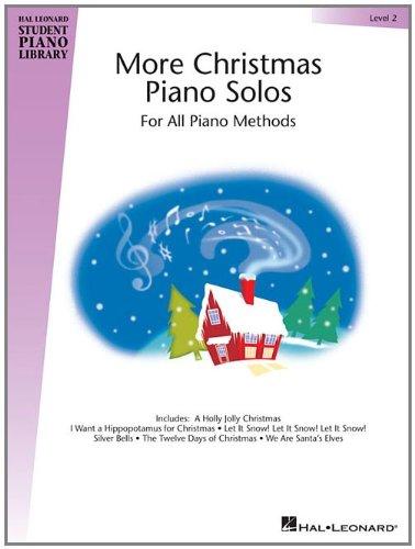 More Christmas Piano Solos - Level 2: Hal Leonard Student Piano Library (Hal Leonard Publishing)
