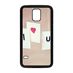 I love you personalized high quality cell phone case for Samsung Galaxy S5