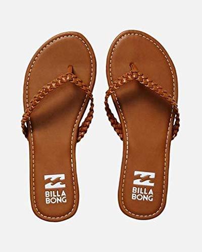 Billabong Women's Braidy Flat Sandal, Desert Daze, 10 M US