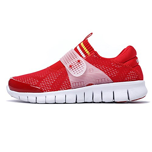 Shoes Running Women White And on Shoes Slip Sneakers Walking Red Onemix Sport Men Shoes qPxRff