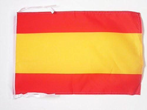 AZ FLAG Bandera de ESPAÑA SIN Armas 45x30cm - BANDERINA ESPAÑOLA SIN Escudo 30 x 45 cm cordeles: Amazon.es: Hogar