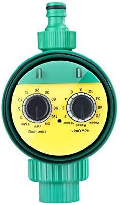 ShenyKan Kunststoff Automatischer elektronischer Wassertimer Gartenbewässerungs-Bewässerungsregler