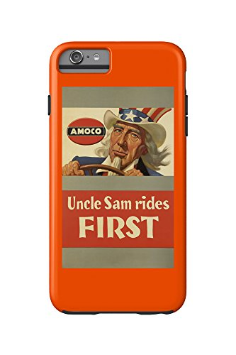 amoco-uncle-sam-rides-first-vintage-poster-artist-brehm-george-c-1943-iphone-6-plus-cell-phone-case-