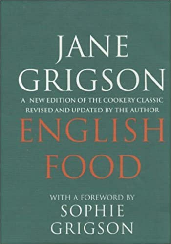 Book English Food by Jane Grigson (2002-07-04)