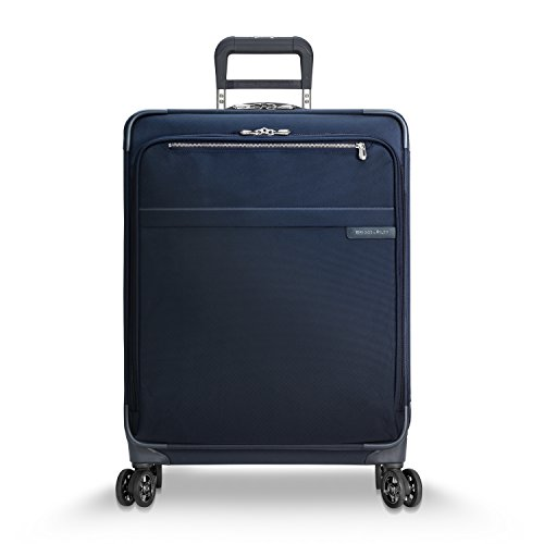 Briggs & Riley Baseline Medium Expandable 25'' Spinner, Navy by Briggs & Riley